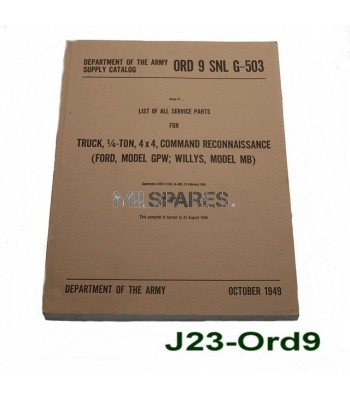 Ord 9 special parts manual