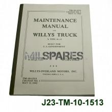 Maintenance manual, Willys