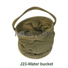Water bucket, Canvas