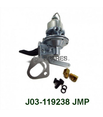 Fuel pump with hand primer