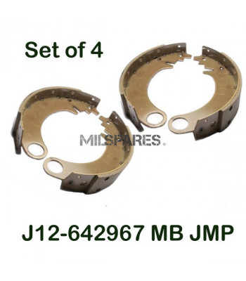 Brake shoes, set of 4, MB