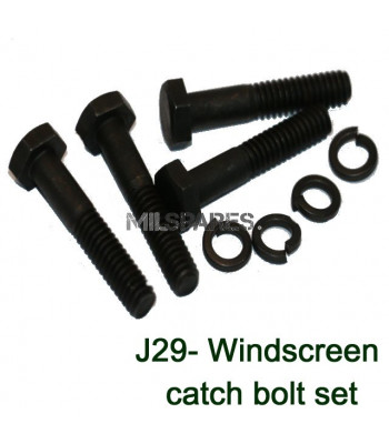 Windscreen catch bolt set