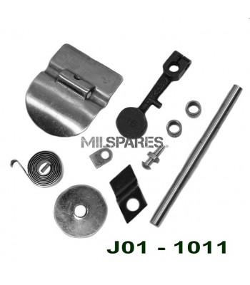 Repair kit, exhaust control
