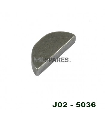 Clutch and brake pedal shaft,