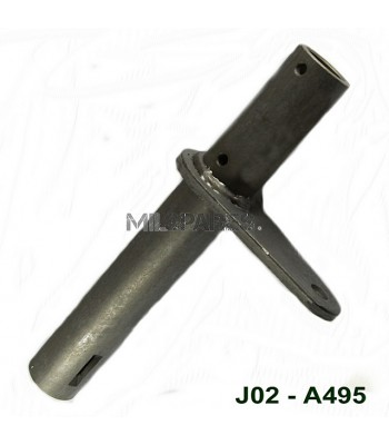 Clutch and brake pedal shaft a