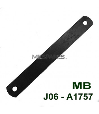 Battery cover strap