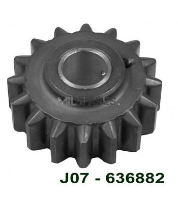T84, gear, reverse idler