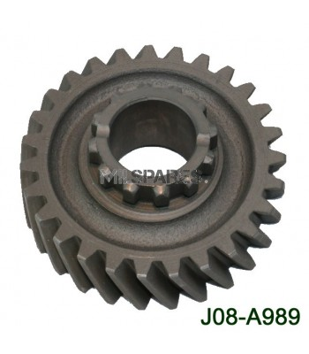 D18, gear, front output shaft