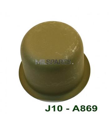 Hub flange dust cap