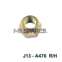 Wheel nuts, right hand