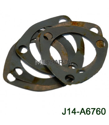 Shim set, Steering tube