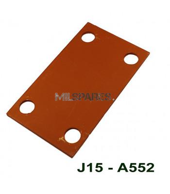 Pintle reinforcement plate,int