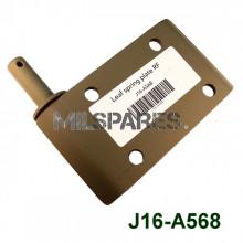 Leaf spring plate RF