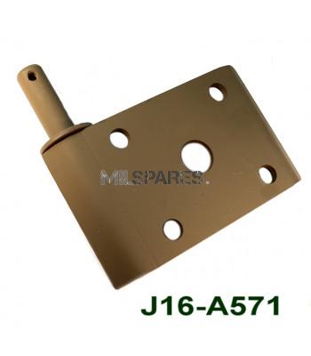 Leaf spring plate LR