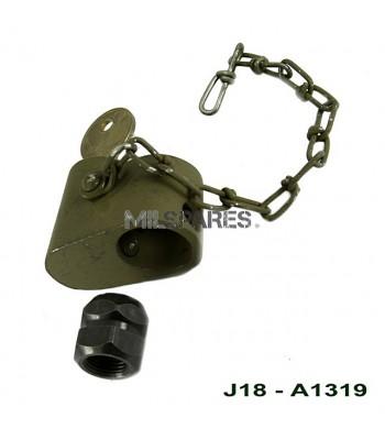 Spare tyre lock, inc nut & key