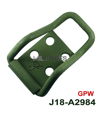 Axe clamp rear, GPW