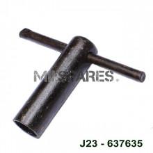 Spark plug wrench, tool