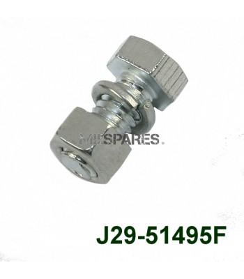 F head 5/16x5/8 unc bolt