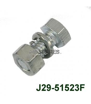 F head 5/16 x 3/4 unc bolt