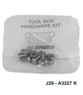 Tool box lid H'ware kit