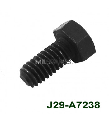 Sump bolt, recessed head