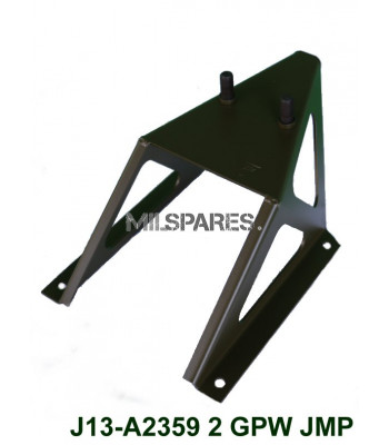 GPW spare tyre carrier, 2 stud