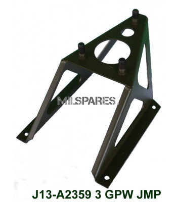 GPW spare tyre carrier, 3 stud